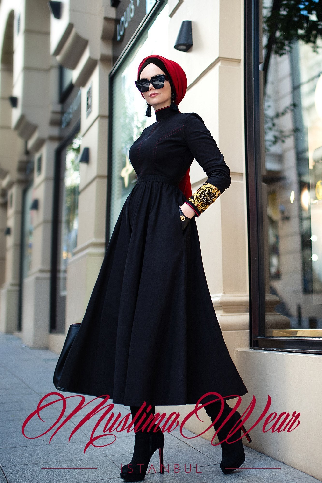 Aviator Dress - Muslima Wear