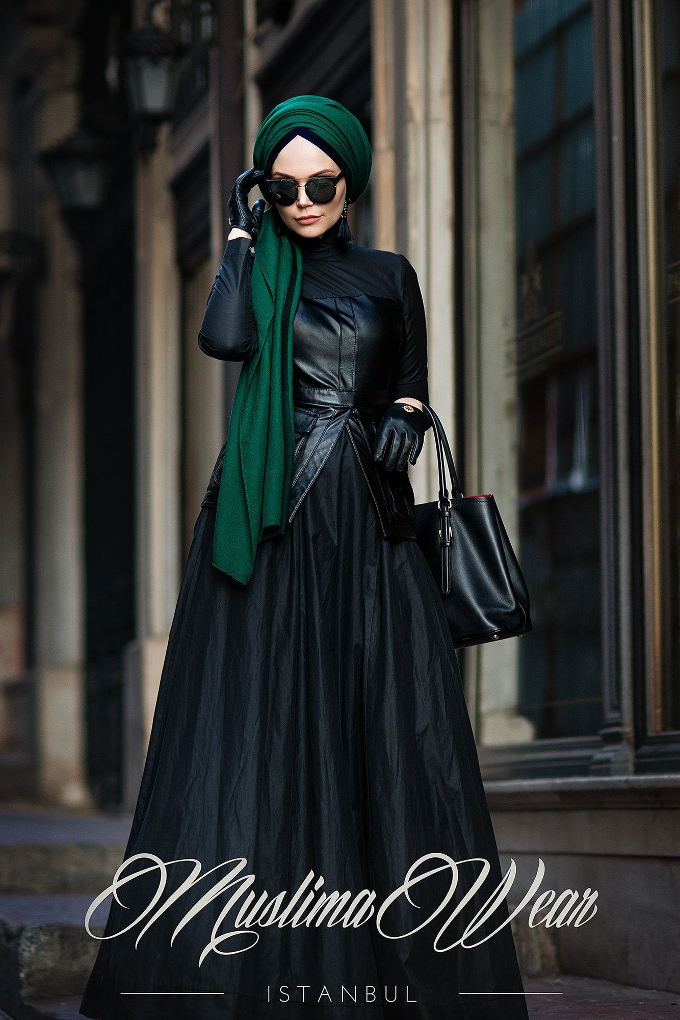 Black Bella Dress - Muslima Wear
