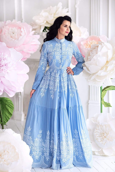 Blue Dream Dress - Muslima Wear