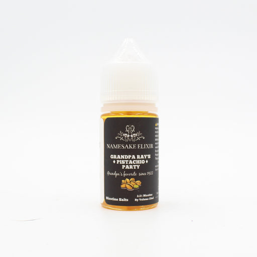 Namesake Elixir - Grandpa Ray's Pistachio Party SALT 30ML