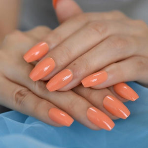 Ballerine - Glossy Orange