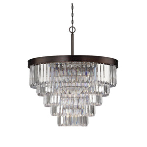 5-TIER ACRYLIC CRYSTAL CHANDELIER