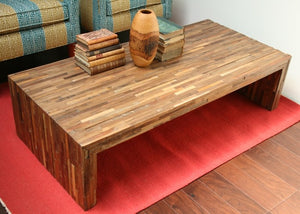DOMINIC RECLAIMED WOOD COFFEE TABLE