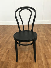 BLACK CAFE METAL CHAIRS