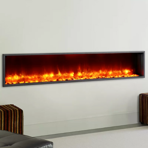LED WALL MOUNTED FIREPLACE