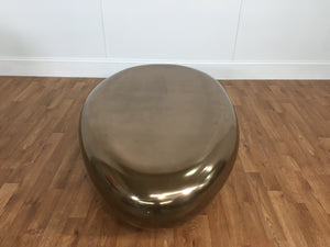 METALLIC BEAN COFFEE TABLE