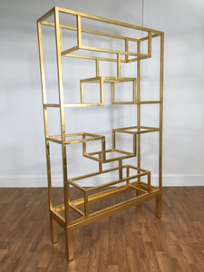 GOLD LEAVE WALL UNIT