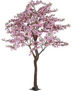 ARTIFICIAL PINK APPLE BLOSSOM TREE