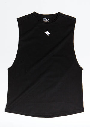 Loose Tank Top - Black