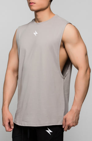 Loose Tank Top - Grey