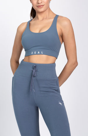 Basic Sports Bra - Pigeon