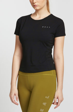 Women Fit Tee - Black