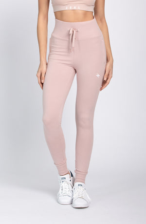 High Waisted Jogger - Taupes
