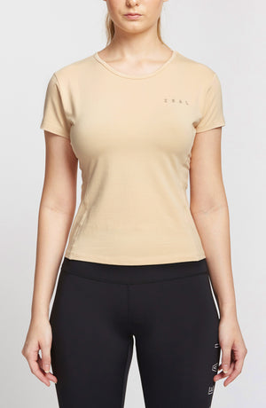 Women Fit Tee - Cream
