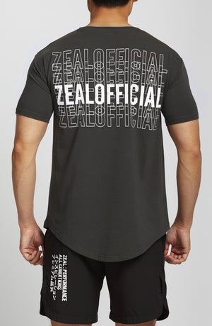 Zeal Design Tee - Iron