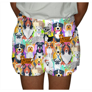 Fuzzy Shorts in Dogs & Cats