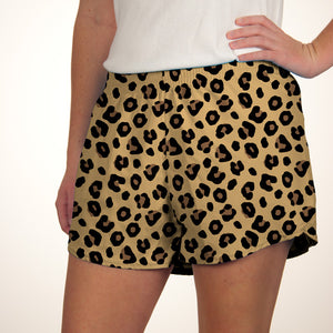 Steph Shorts in Print Leopard