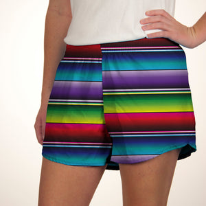 Steph Shorts in Print Serape