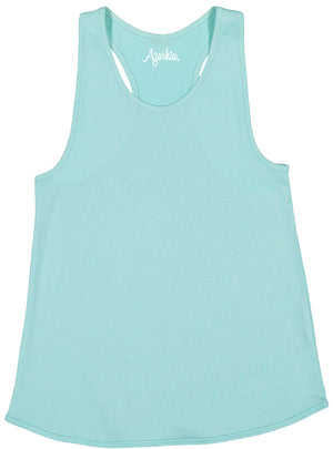 Tank Top with Racer Back in Mint shirt