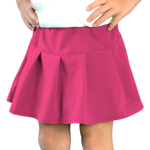Tennis Skirt in Hot Pink