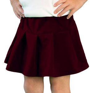 Tennis Skirt in Maroon
