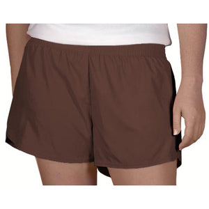 Steph Shorts in Solid Brown