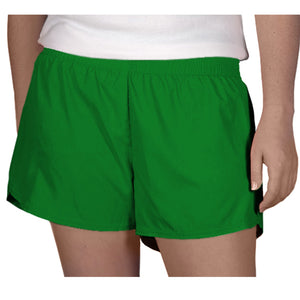 Steph Shorts in Solid Kelley Green