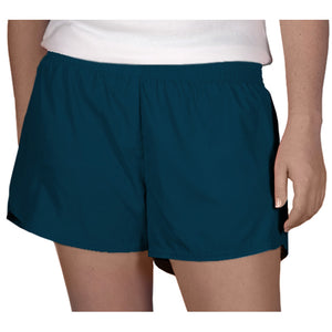 Steph Shorts in Solid Navy Blue