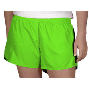 Steph Shorts in Solid Neon Green