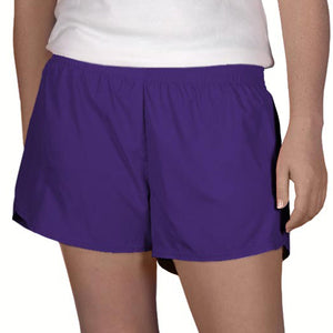 Steph Shorts in Solid Purple