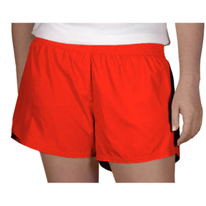 Steph Shorts in Solid Red