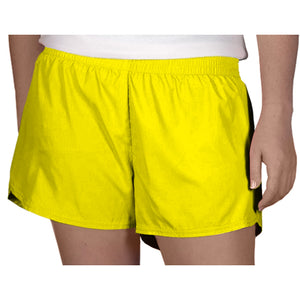 Steph Shorts in Solid Yellow
