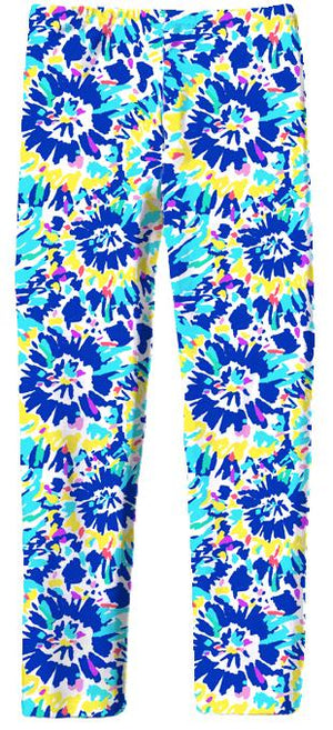 Leggings in Tie Dye Bright