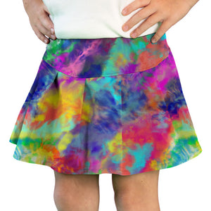 Tennis Skirt in Watercolor Bright