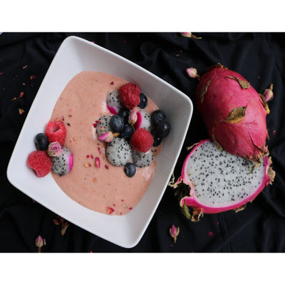 Berries and Dragon Fruit