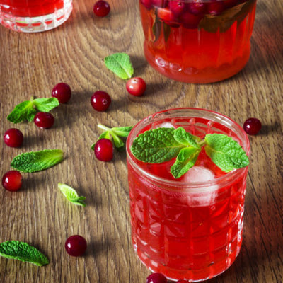 Minted Cranberries