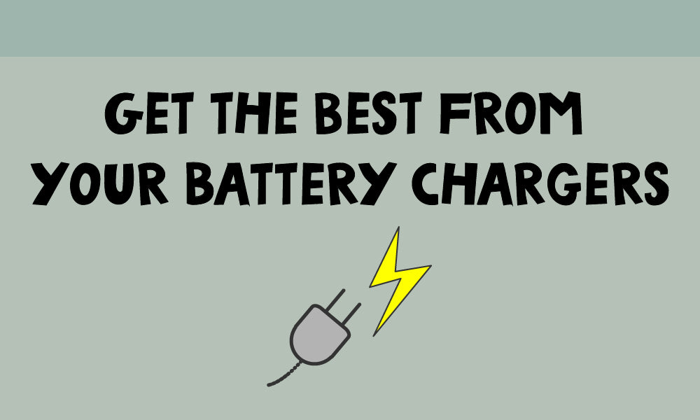 Battery Chargers – what they can do and which one's for you