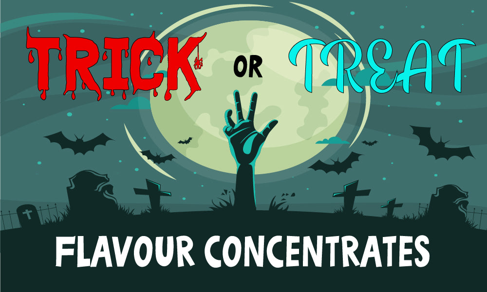 Trick or Treat Halloween Flavours 2019