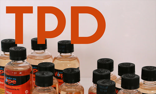 TPD - How it will affect DIY e-liquid mixing.