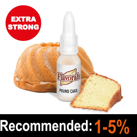 Pound Cake 15ml - Flavorah