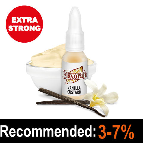 Vanilla Custard 10ml - Flavorah