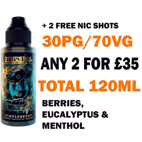 Dimpleberry 100ml | Zeus Juice - Any 2 for £35