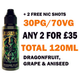 Dragon's Claw 100ml | Zeus Juice - Any 2 for £35