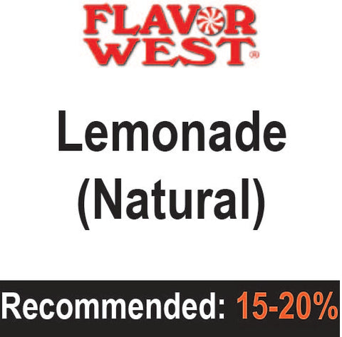 Lemonade (natural) - Flavor West (FW)