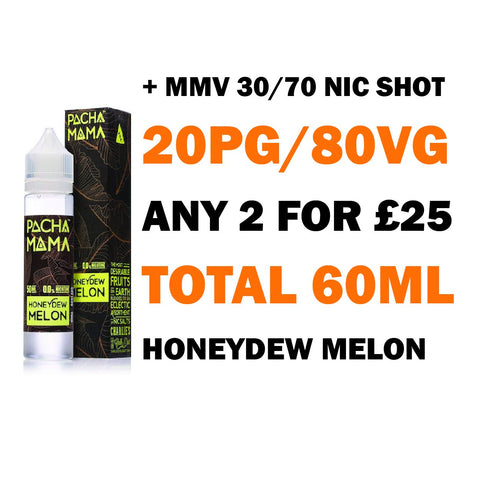 Honeydew Melon 50ml Shortfill | Pacha Mama - Any 2 for £25
