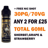 Pegasus 50ml | Zeus Juice - Any 2 for £25