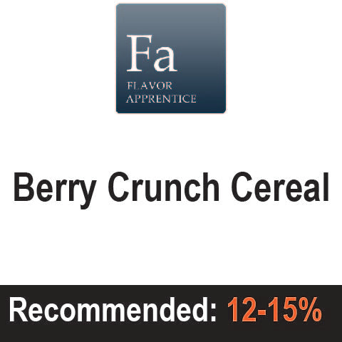 Berry Crunch Cereal - The Flavor Apprentice