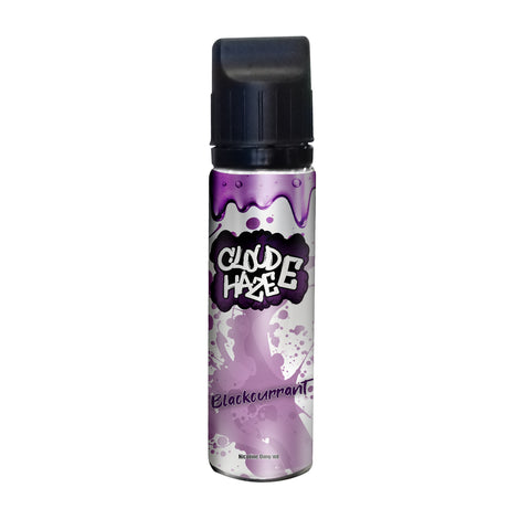 Blackcurrant 50ml Shortfill - Cloud-E-Haze
