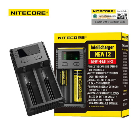 i2 Battery Charger - Nitecore