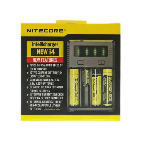 i4 Battery Charger - Nitecore